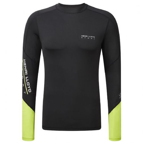 Henri Lloyd Energy Rash Vest Long Sleeve Black Y31008